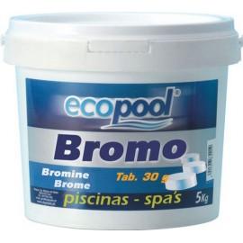 Bromo em pastilhas ecopool for Bromo para piscinas